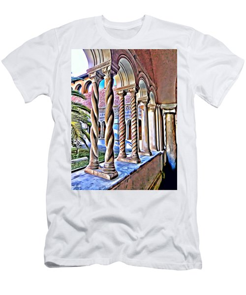 Cloisters Of St. Johns Lantern In Rome Men's T-Shirt (Athletic Fit)