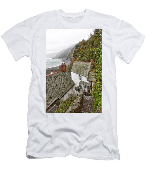 Clovelly Coastline Men's T-Shirt (Athletic Fit)