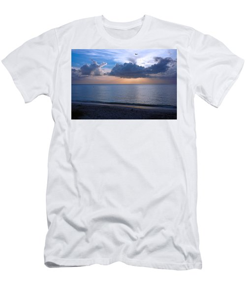Cloud Creatures At Delnor Wiggins Pass State Park Men's T-Shirt (Athletic Fit)