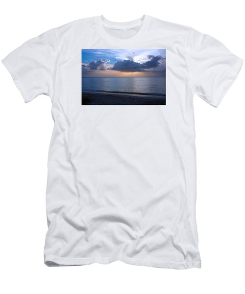 Cloud Creatures At Delnor Wiggins Pass State Park Men's T-Shirt (Athletic Fit)