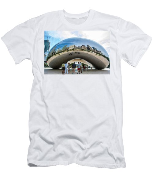 Cloud Gate Aka Chicago Bean Men's T-Shirt (Athletic Fit)