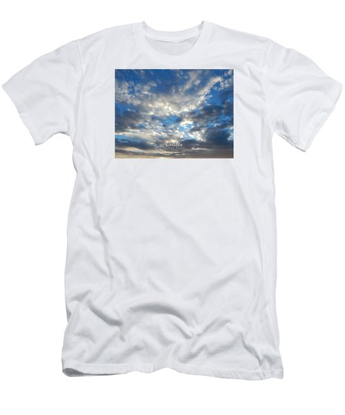 Clouds #4049 Men's T-Shirt (Athletic Fit)