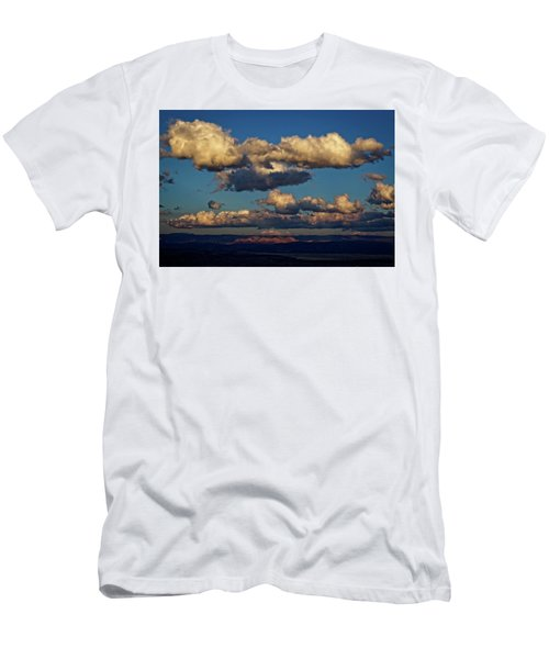 Clouds And Red Rocks Hdr Men's T-Shirt (Athletic Fit)
