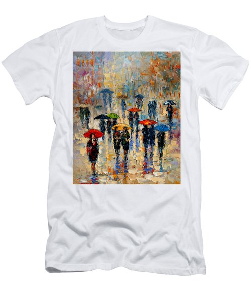 Cloudy Day Men's T-Shirt (Slim Fit) by Andre Dluhos