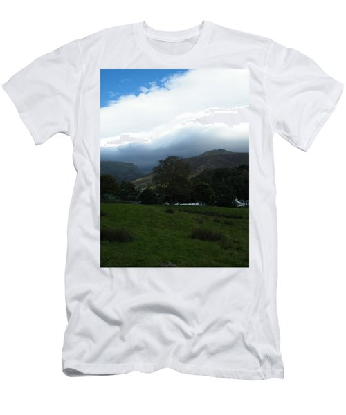 Cloudy Hills Men's T-Shirt (Athletic Fit)