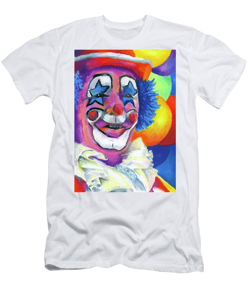 Clown With Balloons Men's T-Shirt (Athletic Fit)