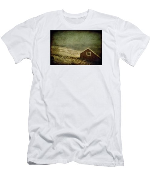 Coast Of Norway Men's T-Shirt (Slim Fit) by Vittorio Chiampan