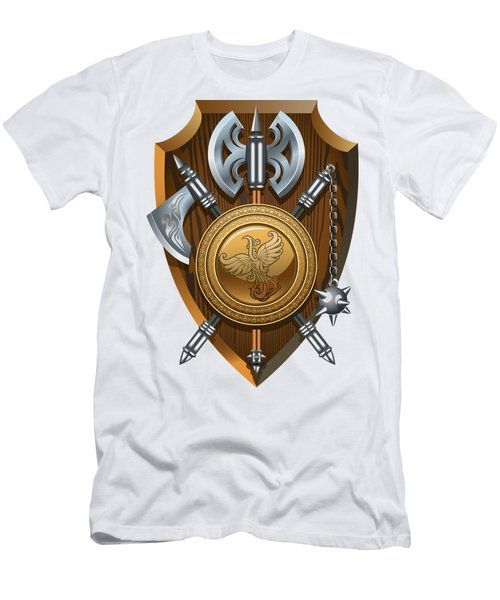 Coat Of Arms Men's T-Shirt (Athletic Fit)