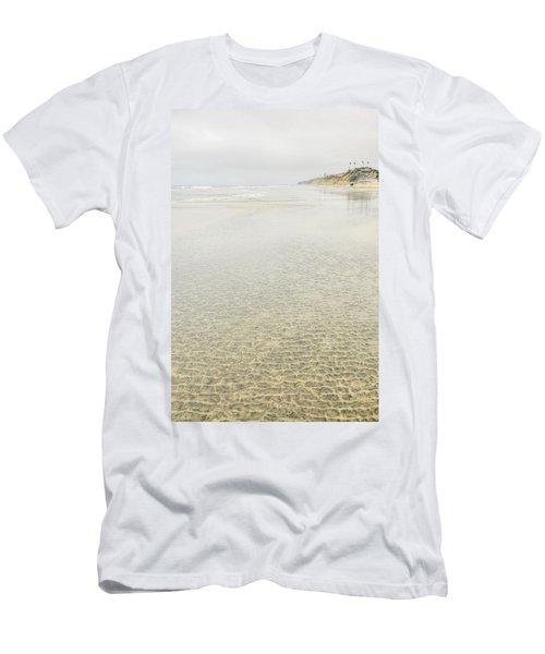 Cobblestones At Lowtide Men's T-Shirt (Athletic Fit)