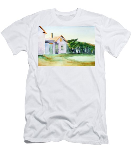 Cobb's House After Edward Hopper Men's T-Shirt (Athletic Fit)