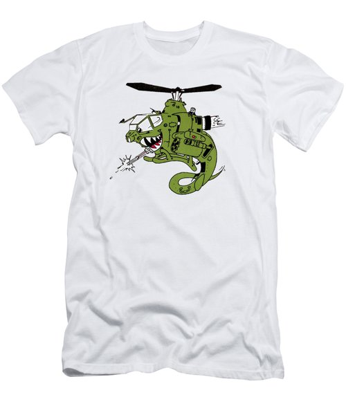 Cobra Men's T-Shirt (Slim Fit) by Julio Lopez