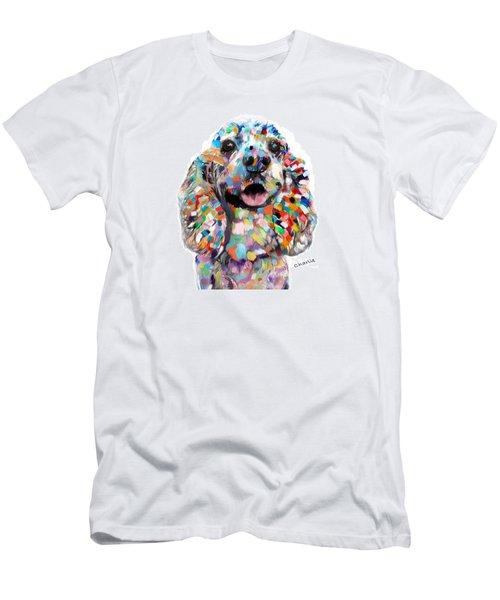 Cocker Spaniel Head Men's T-Shirt (Athletic Fit)