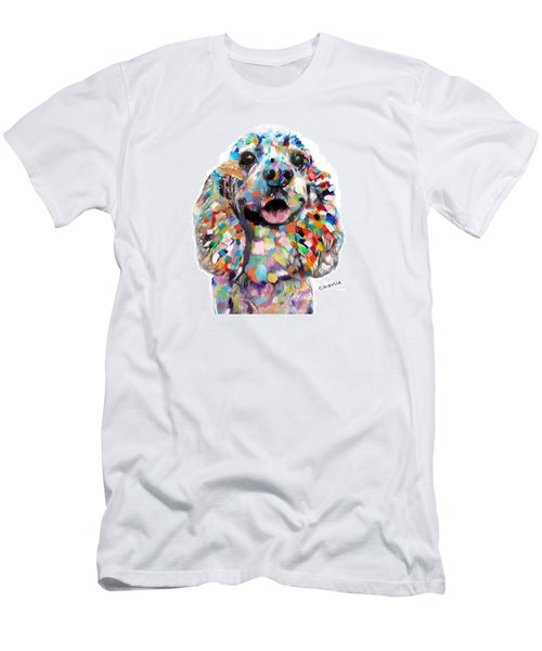 Cocker Spaniel Head Men's T-Shirt (Athletic Fit)