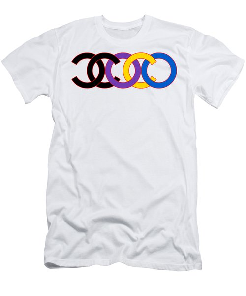Coco Chanel-7 Men's T-Shirt (Athletic Fit)