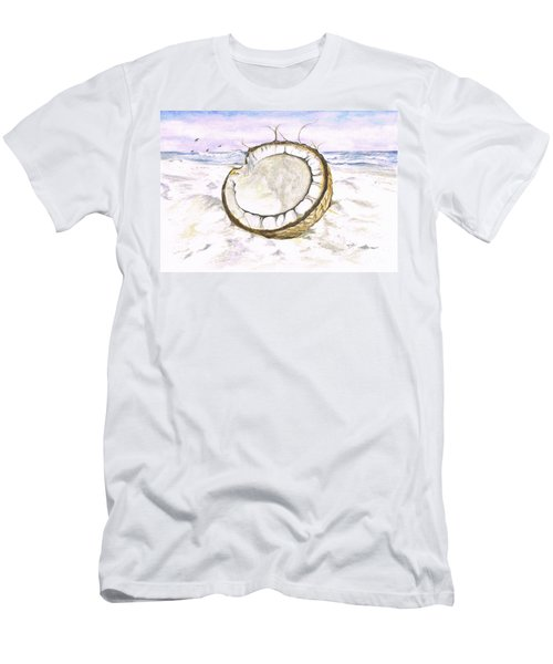 Coconut Island Men's T-Shirt (Athletic Fit)