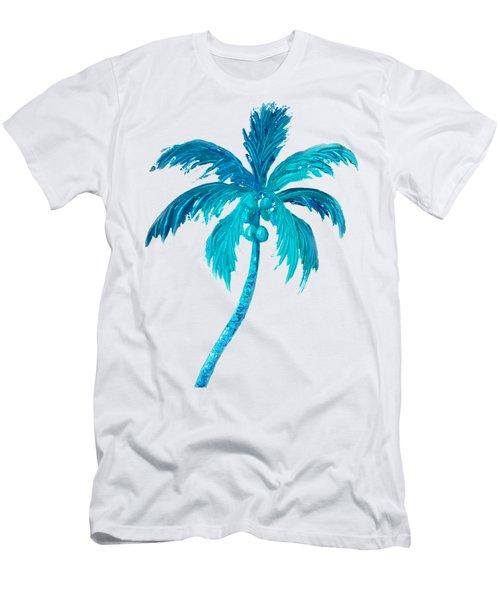 Coconut Palm Tree Men's T-Shirt (Slim Fit) by Jan Matson