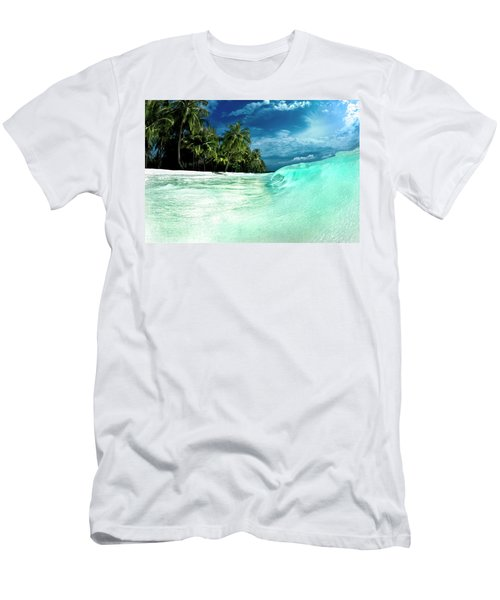 Coconut Water Men's T-Shirt (Athletic Fit)