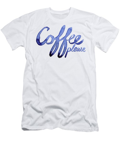 Coffee Please Men's T-Shirt (Athletic Fit)