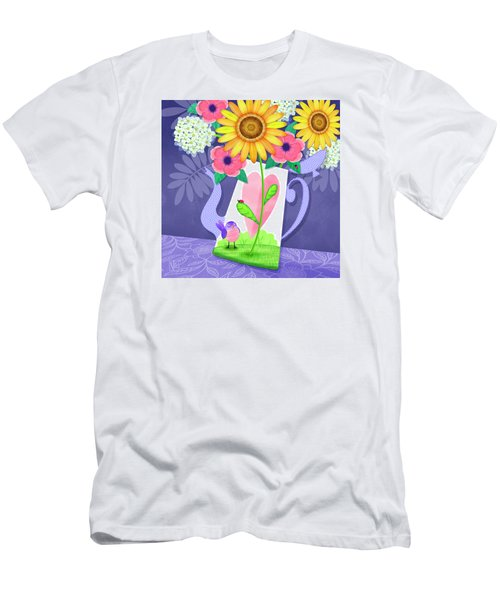 Coffee Pot Surprise Men's T-Shirt (Athletic Fit)