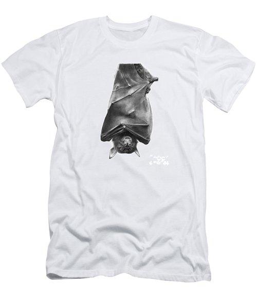 Coffie The Fruit Bat Men's T-Shirt (Slim Fit) by Abbey Noelle