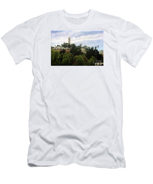 coit Tower San Francisco Men's T-Shirt (Athletic Fit)