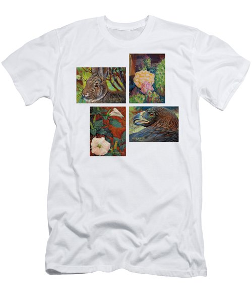 collection of 4 Desert minatures Men's T-Shirt (Athletic Fit)