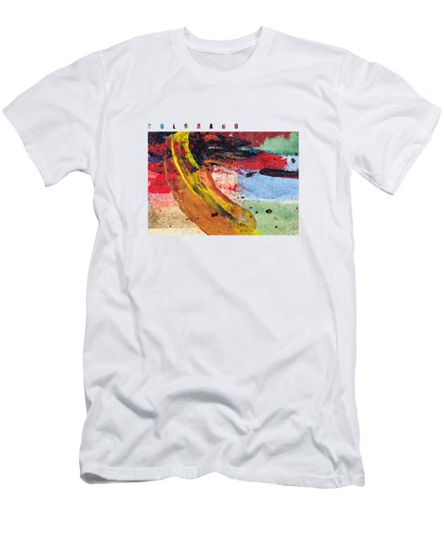 Colorado Map Art - Painted Map Of Colorado Men's T-Shirt (Athletic Fit)
