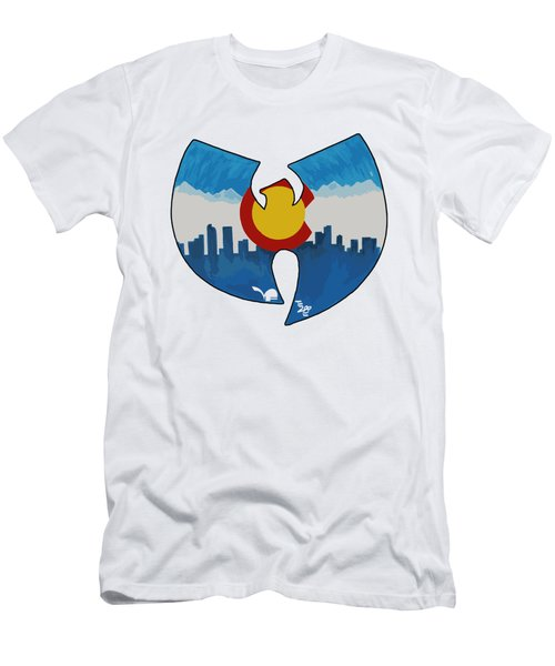 Colorado Wu-tang1 Men's T-Shirt (Athletic Fit)