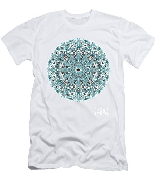 colorDrawMandalalesson Men's T-Shirt (Athletic Fit)
