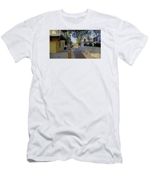 Colorful Hypolita Street Men's T-Shirt (Athletic Fit)