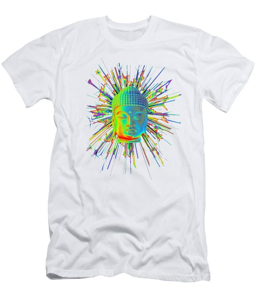 colorful Korean sparkle Men's T-Shirt (Slim Fit) by Terrell Kaucher