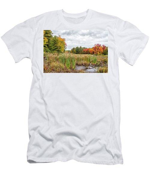 Colorful Webster Bog Men's T-Shirt (Athletic Fit)