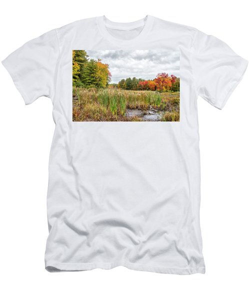 Colorful Webster Bog Men's T-Shirt (Athletic Fit)