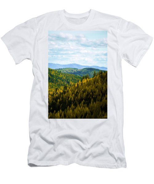 Colors Of Sherman's Pass Men's T-Shirt (Athletic Fit)