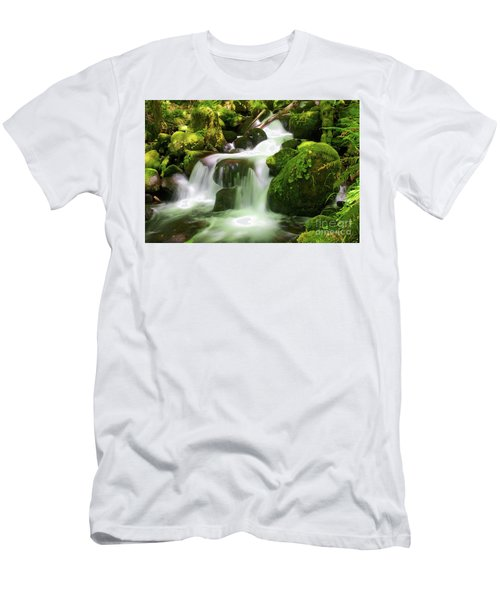 Columbia Gorge Stream Men's T-Shirt (Athletic Fit)