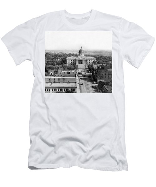 Columbia South Carolina - State Capitol Building - C 1905 Men's T-Shirt (Slim Fit) by International  Images