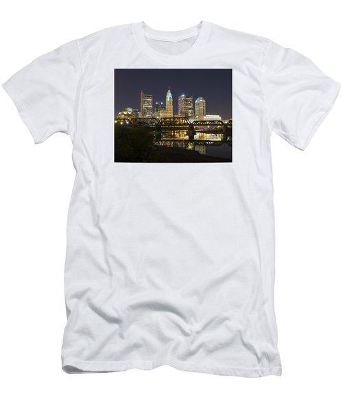 Columbus Skyline 2 Men's T-Shirt (Athletic Fit)