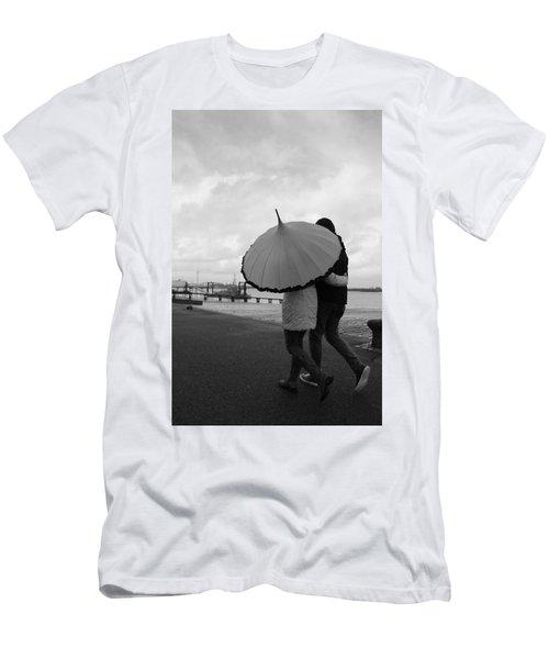 Come Rain Or Shine Men's T-Shirt (Athletic Fit)