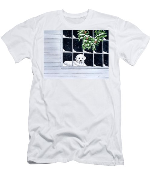 Coming Back Soon? Men's T-Shirt (Athletic Fit)