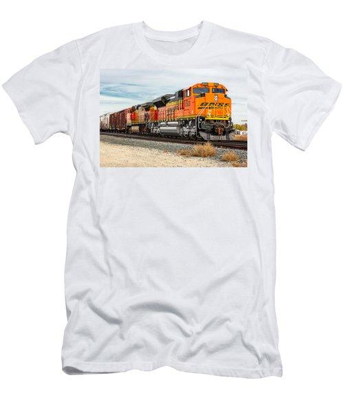 Coming Through Livingston Men's T-Shirt (Athletic Fit)