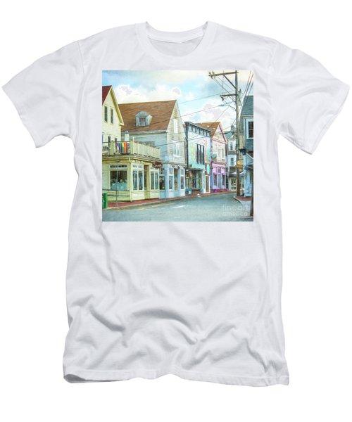 Commercial St #1 Men's T-Shirt (Athletic Fit)
