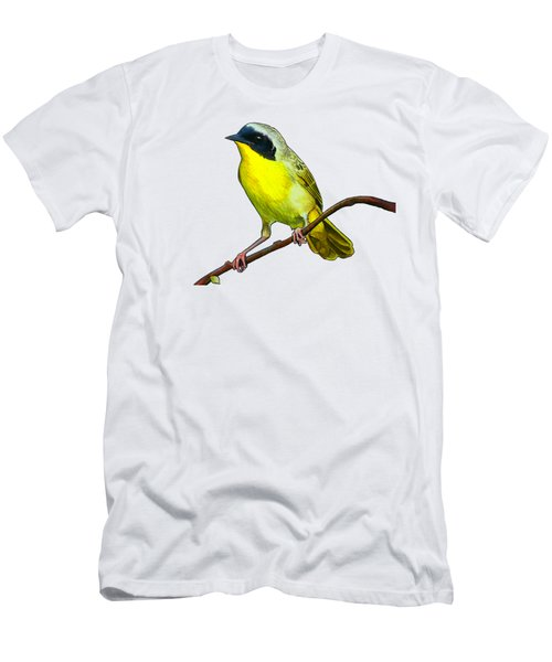 Common Yellowthroat Men's T-Shirt (Athletic Fit)