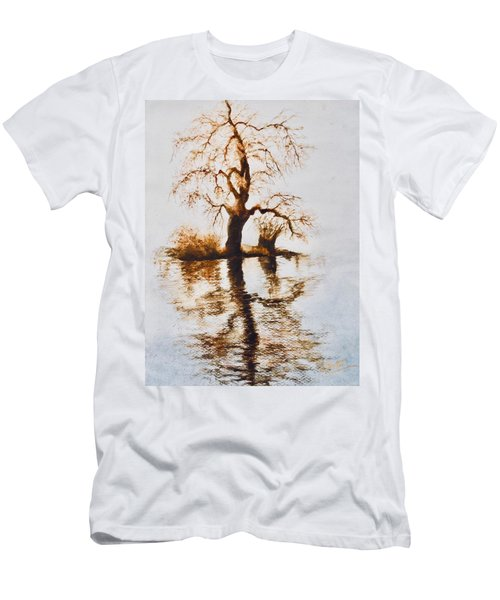 Como Lake Reflections Men's T-Shirt (Athletic Fit)