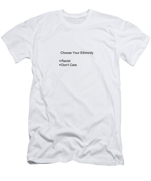 Conceptual 2d Survey No Race Men's T-Shirt (Athletic Fit)