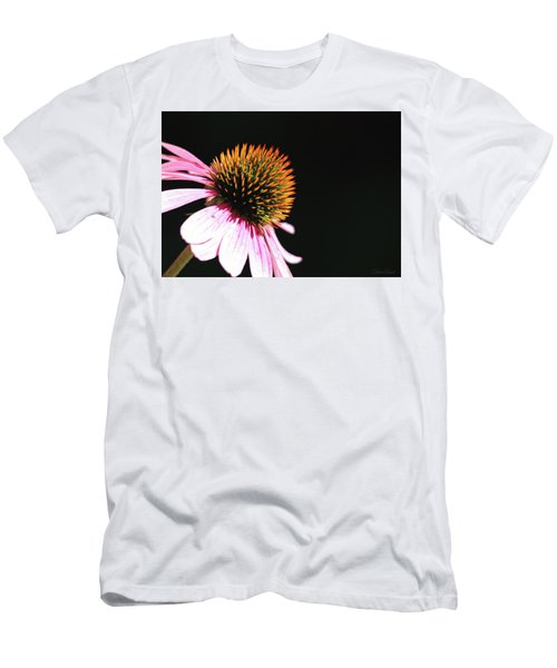 Men's T-Shirt (Athletic Fit) featuring the photograph Coneflower by Trina Ansel