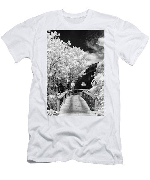 Congaree River Boardwalk Men's T-Shirt (Athletic Fit)
