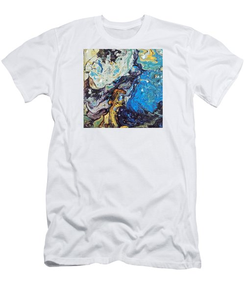 Men's T-Shirt (Athletic Fit) featuring the painting Conjuring by Robbie Masso