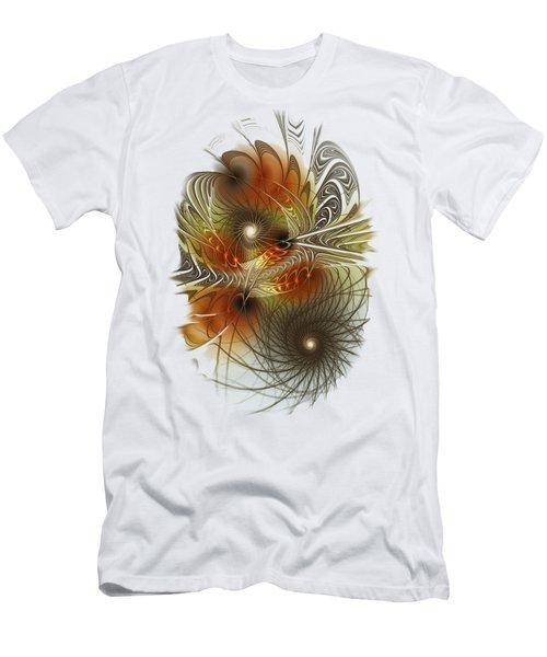 Connection Game Men's T-Shirt (Slim Fit) by Anastasiya Malakhova