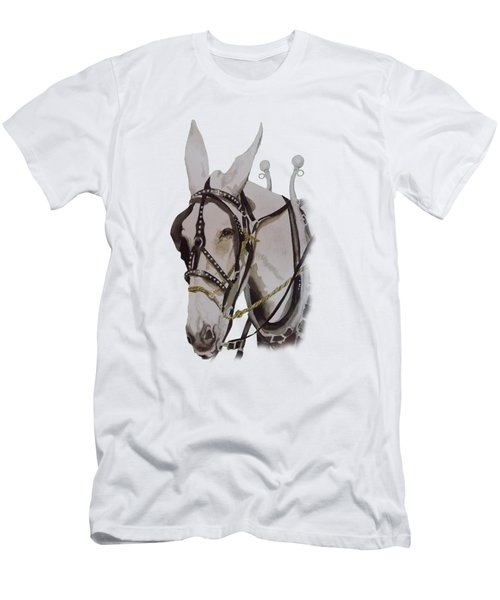 Connie The Mule Men's T-Shirt (Slim Fit) by Gary Thomas