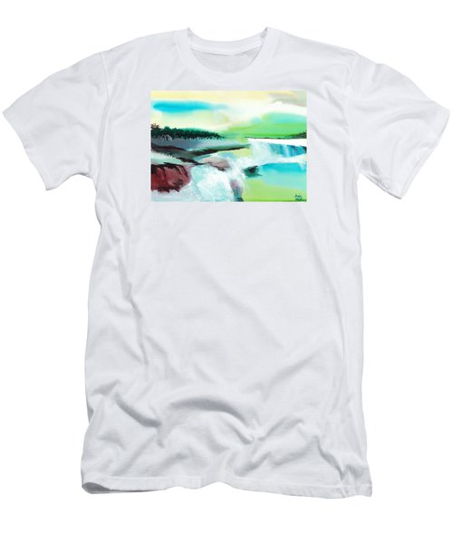 Constructing Reality 1 Men's T-Shirt (Athletic Fit)